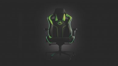 Photo of A new Arcadeo Gaming chair allows you to feel the action with ' SmartSense ' haptics in your games.